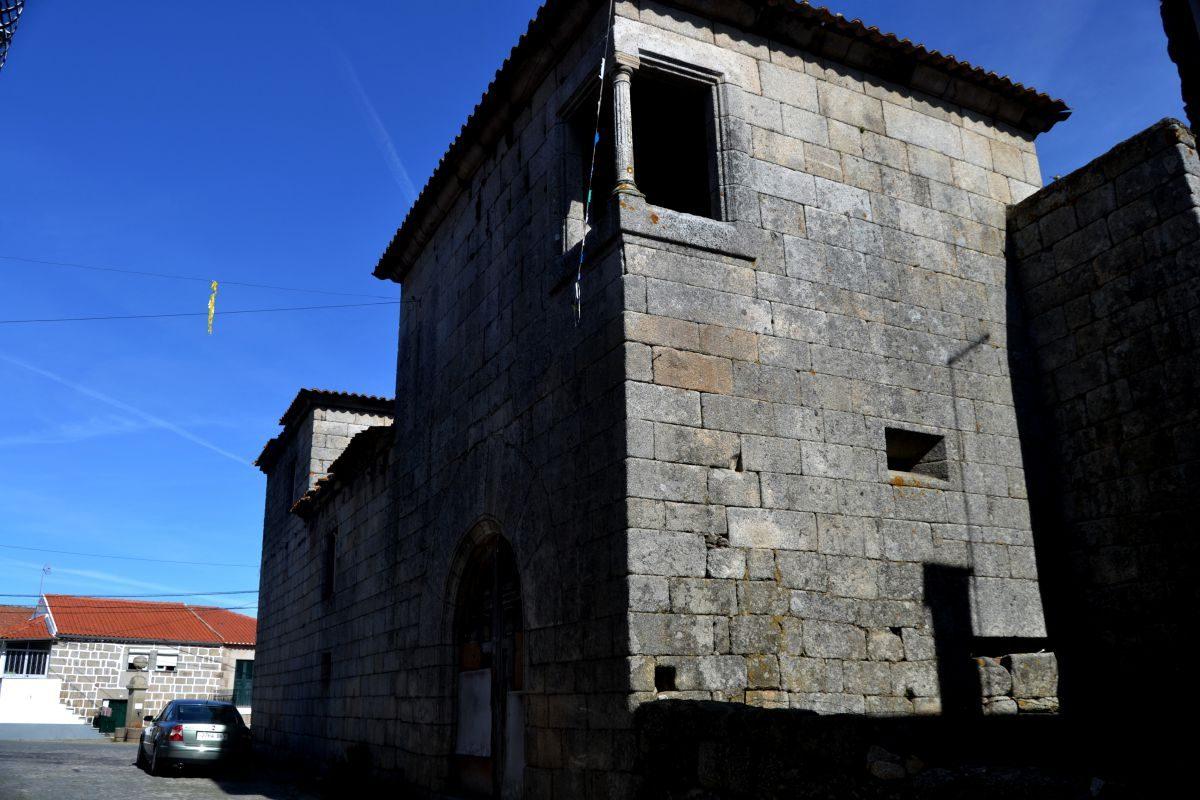 Ruínas do palácio dos Távora