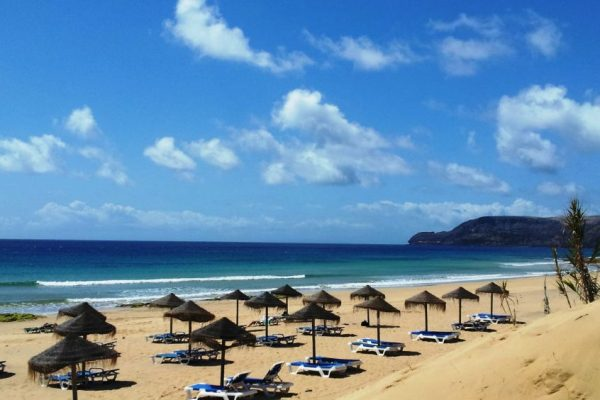 praias de sonho na ilha de Porto Santo