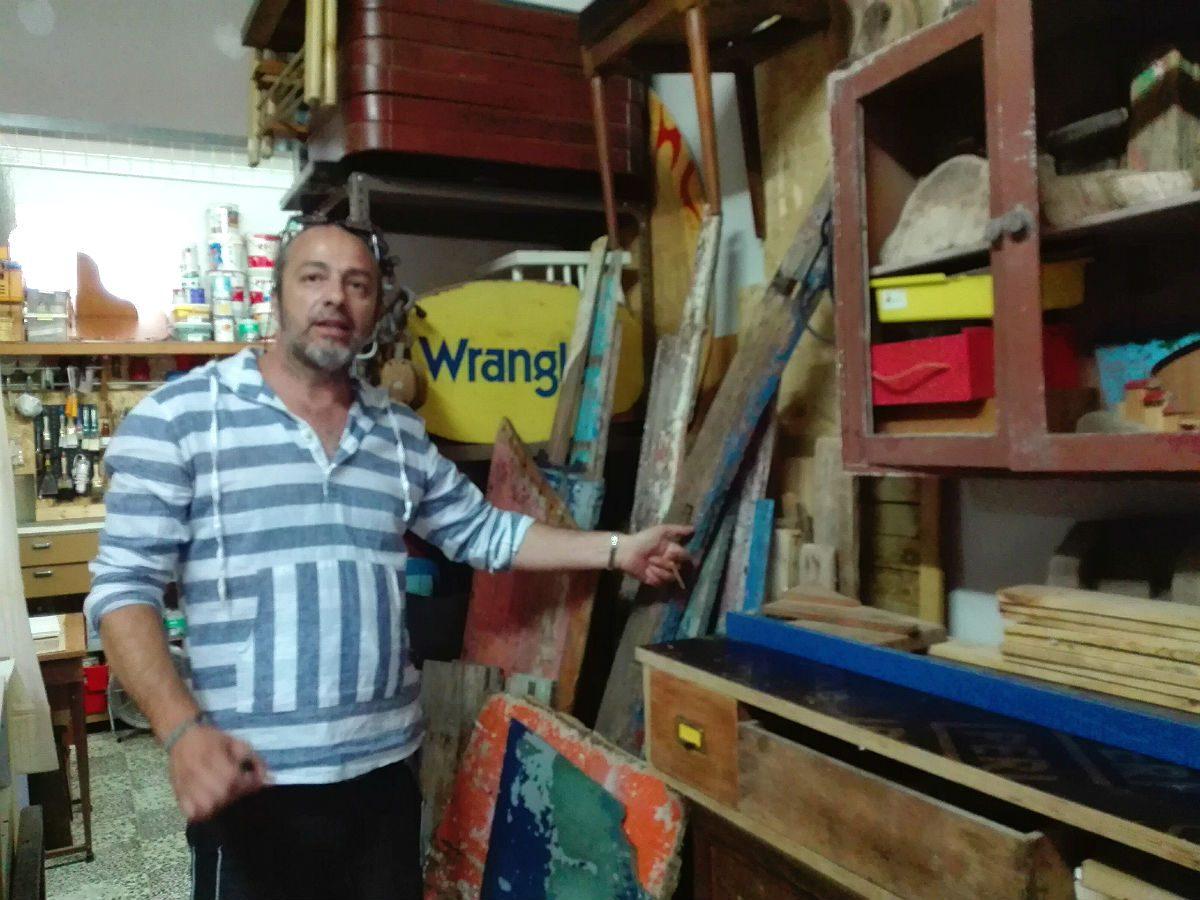 Marcos Viana, reciclar para fazer arte