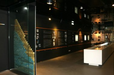 espaço expositivo do museu do sabão