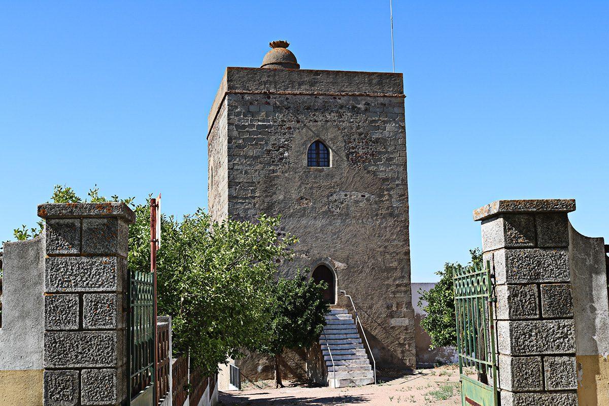A Torre de Menagem foi acabada de construir já no reinado de D. Manuel I