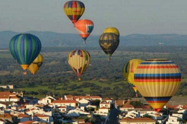 balões de ar quente no alentejo