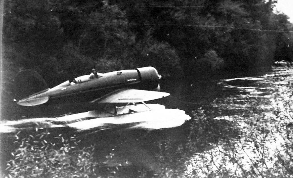 Os Lindbergh no rio Minho