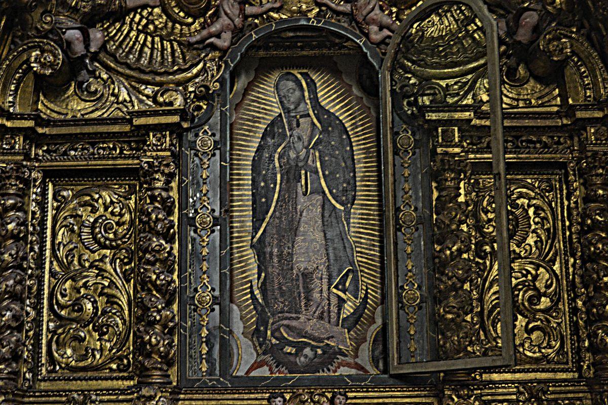 Imagem da Senhora da Guadalupe