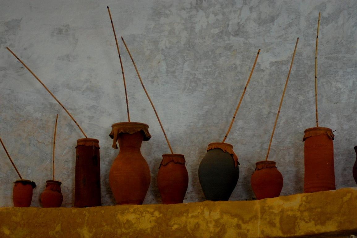Roncas de Elvas são membranofones de percussão