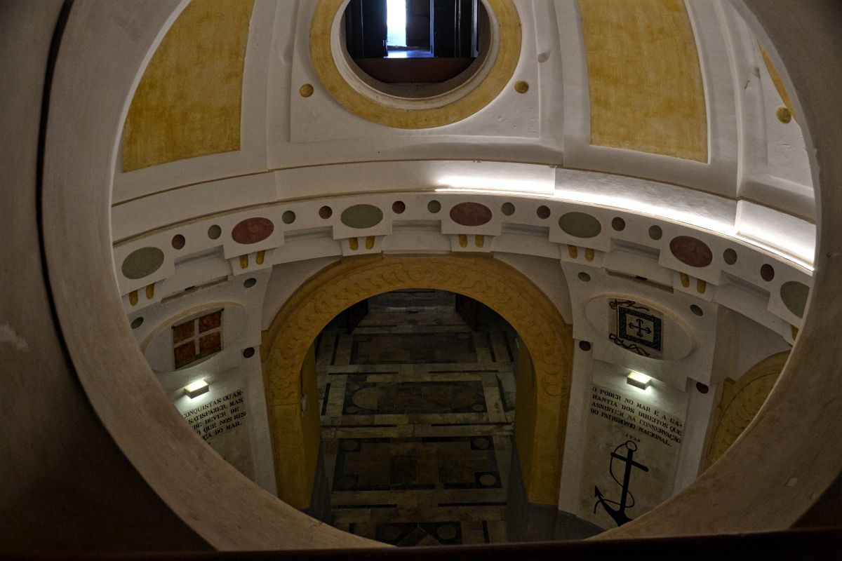 O canhão pedreiro foi concebido para o Forte da Graça