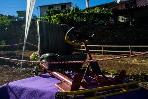 Os carrinhos de rolamentos espalham-se pela aldeia até finais de setembro