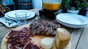 maranhos, presunto e queijo