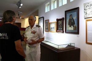 Akmirante Silva Pereira, chefe do Estado Maior da Armada