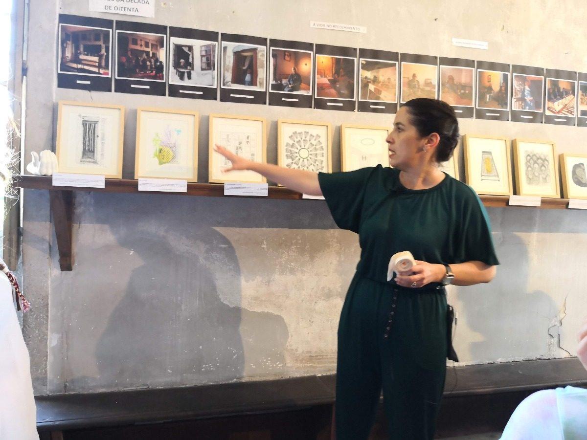 Patrícia Ferreira fala sobre os seus quadros