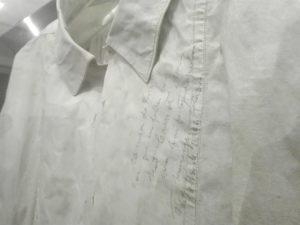 camisa autografada de Bordalo
