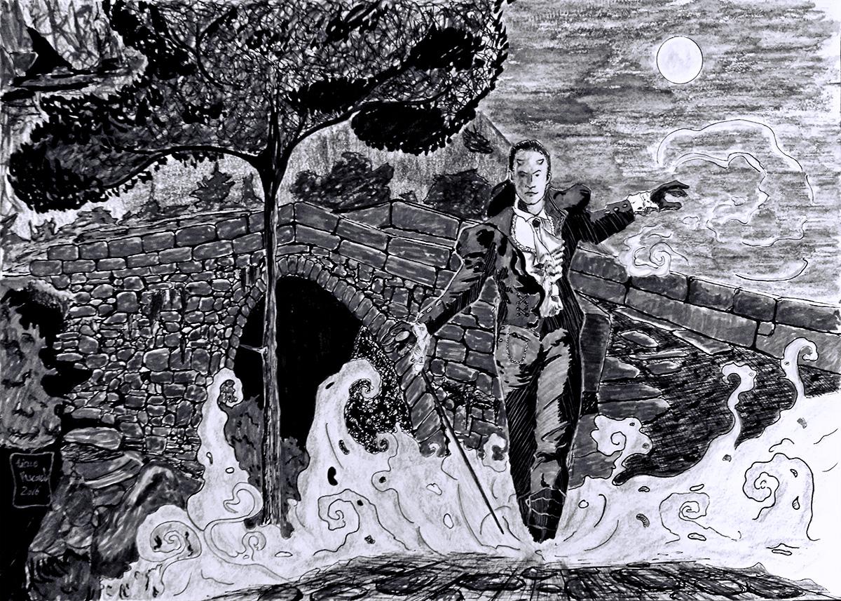 Lenda: Na ponte do diabo batizam-se as crianças no ventre
