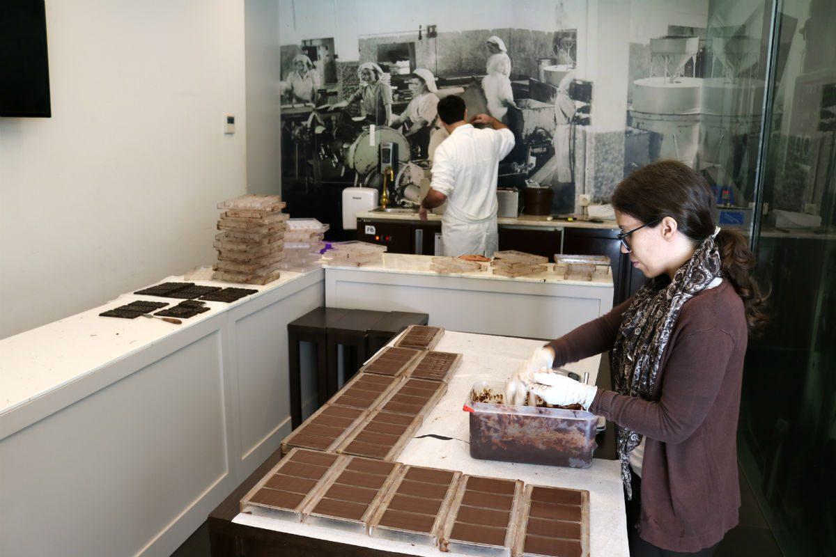 fabrico de chocolate