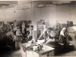 A fábrica de A Vianense em plena laboração