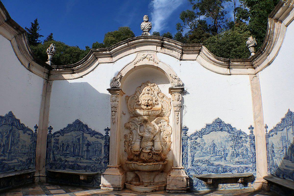O jardim onde os monges falavam