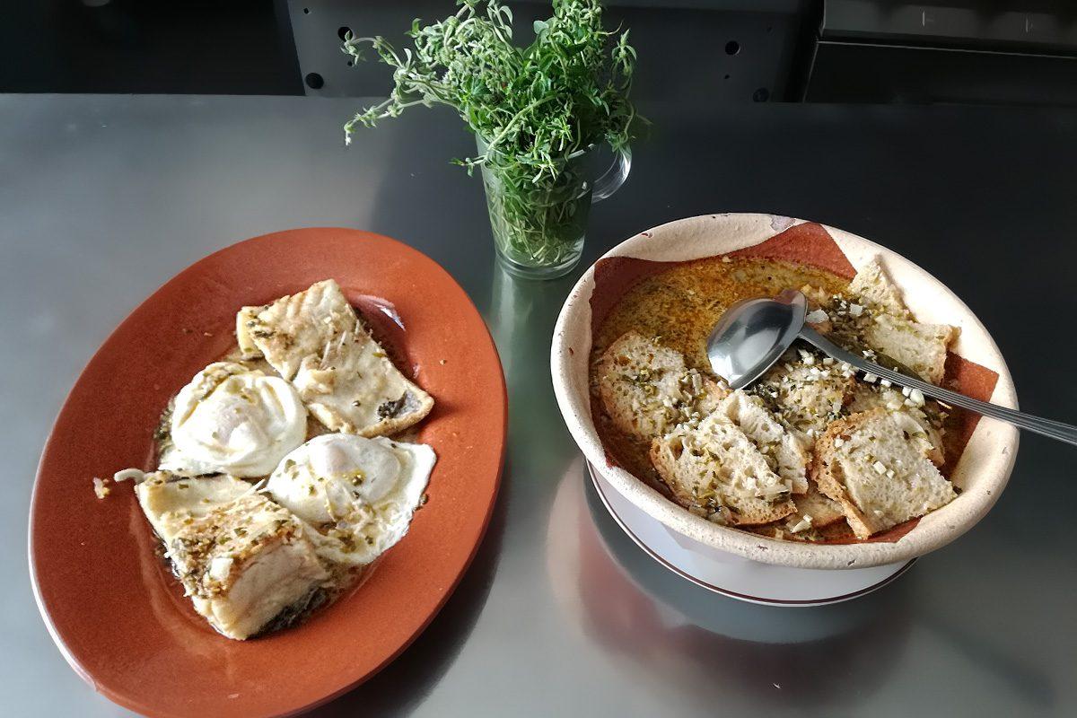 Prato típico de Redondo