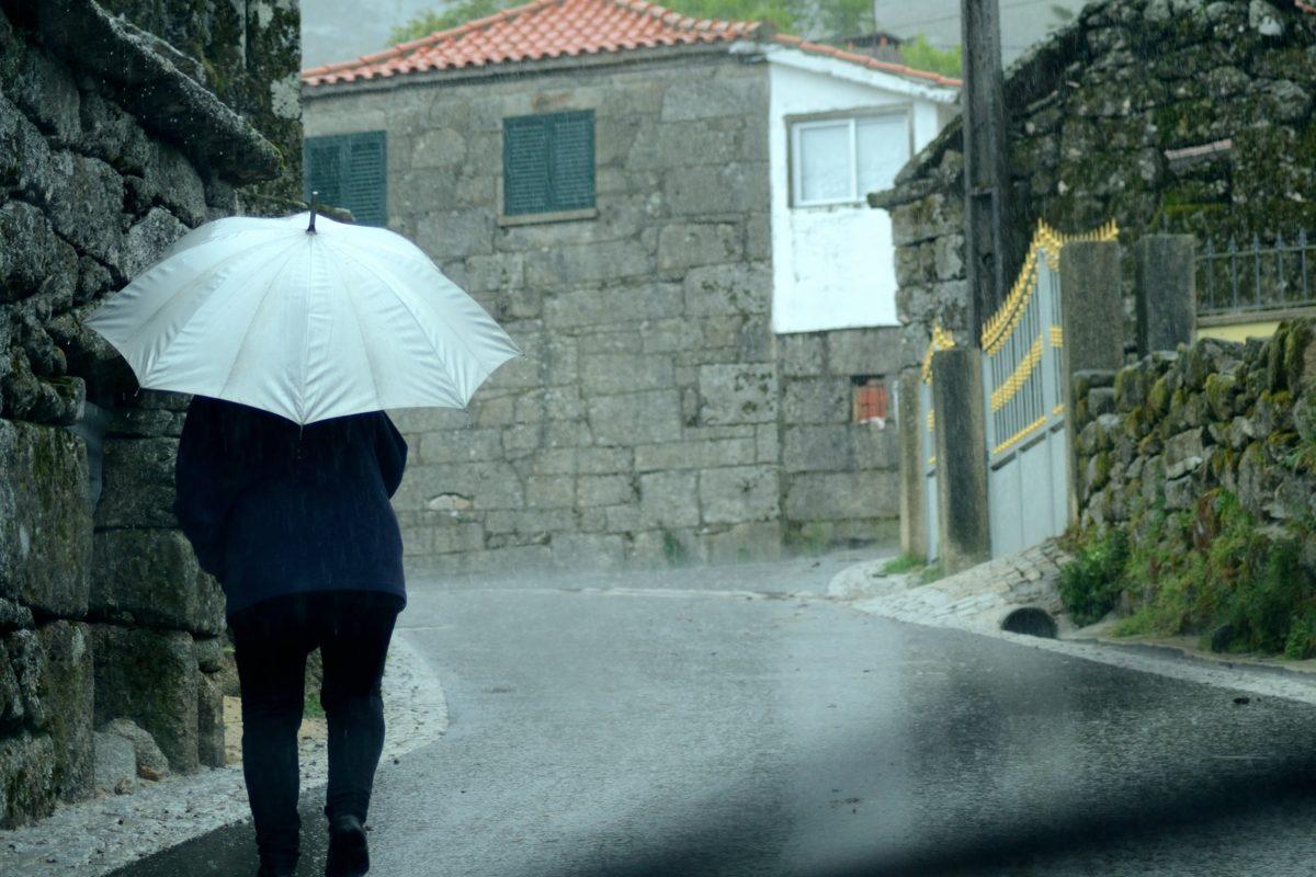Dia de chuva em Macieira