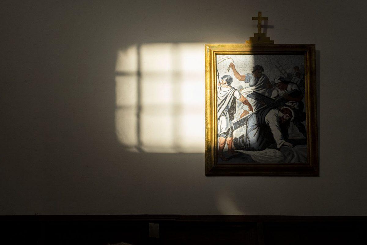 a cela do Mosteiro da Cartuxa
